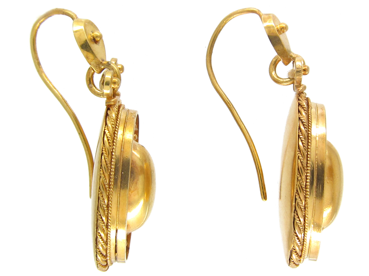 15ct Gold Victorian Earrings