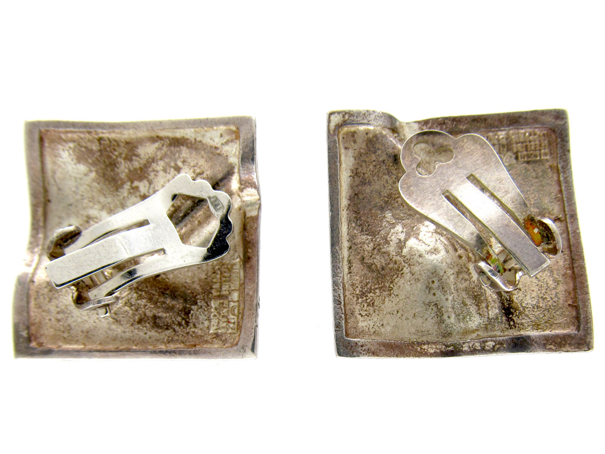 Silver Moon Series Earrings by Lapponia