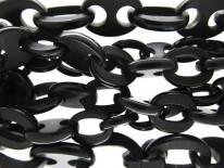 Victorian Vulcanite Long Guard Chain