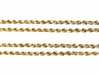 Victorian 9ct Gold Prince of Wales Twist Chain