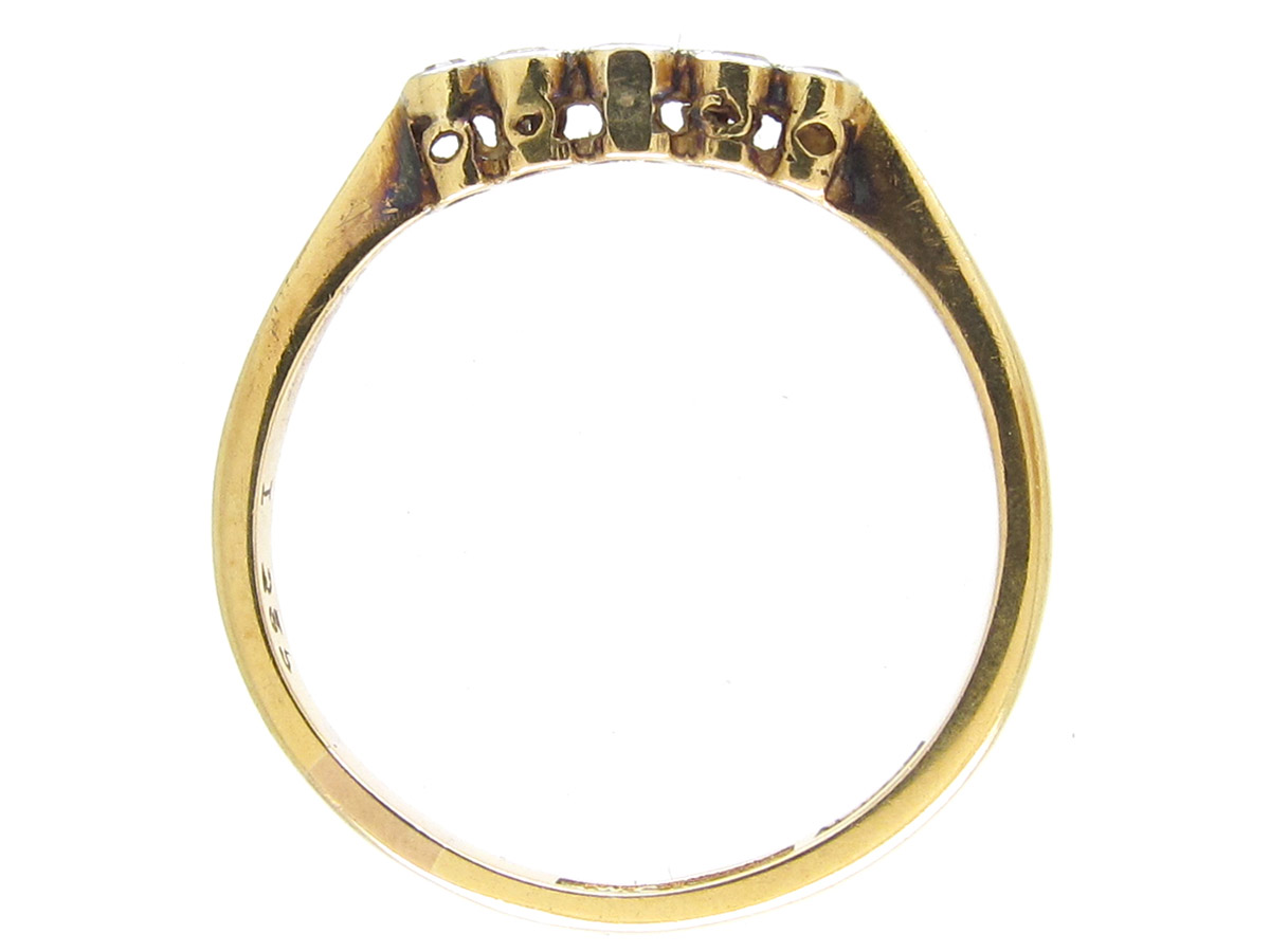 Small Five Stone Diamond Ring