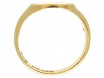 18ct Gold Welsh Dragon Signet Ring