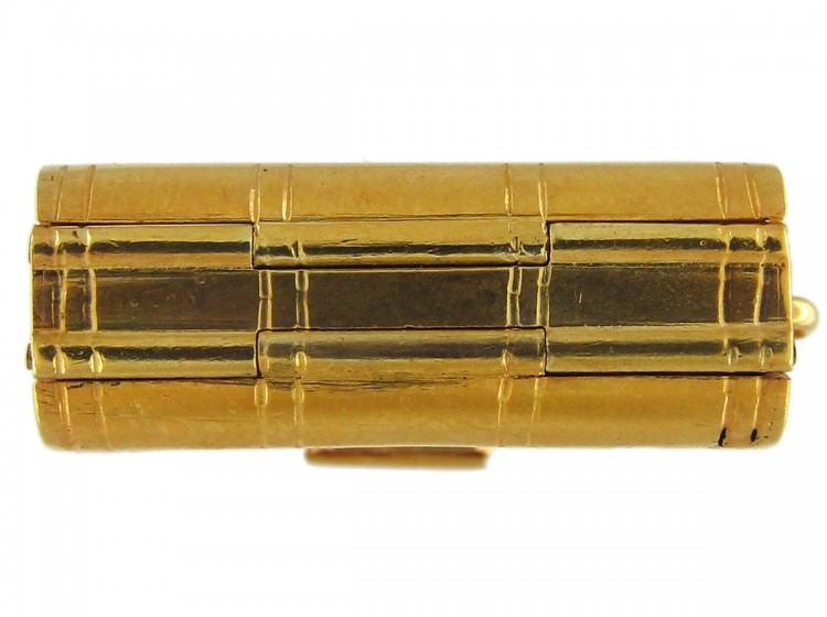 Victorian 18ct Gold Book Locket