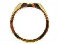 Bear's Head 9ct Gold Signet Ring