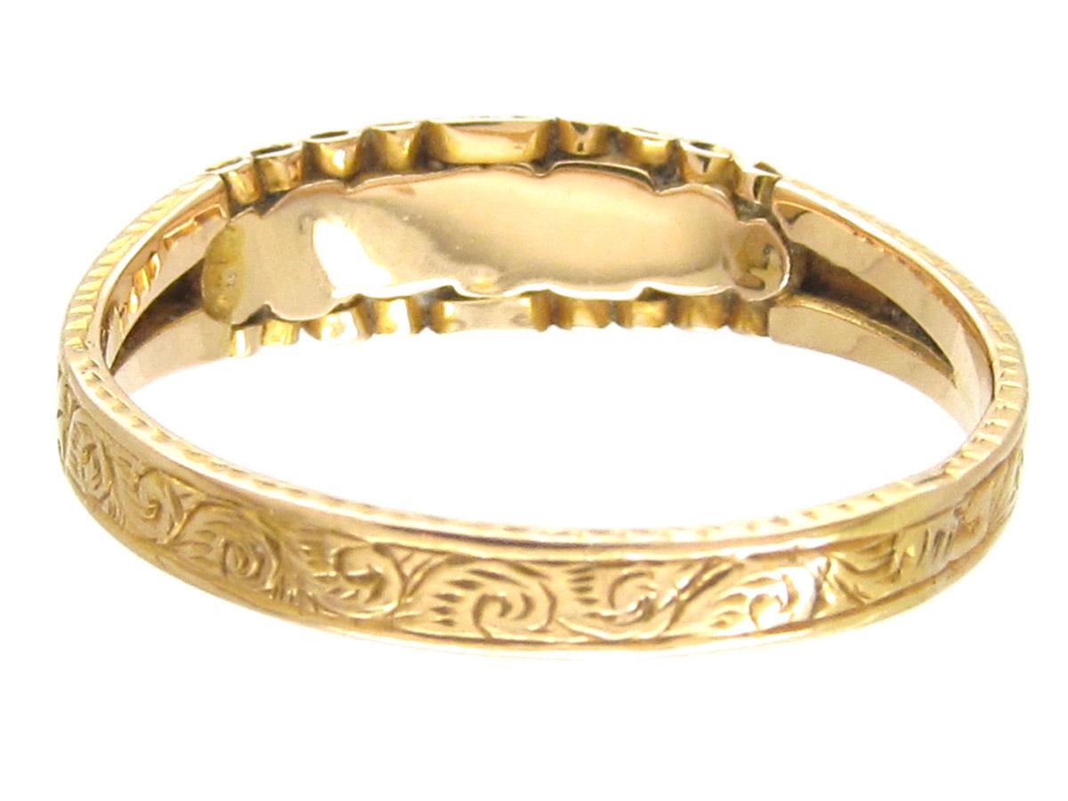 Georgian 'Dearest' Ring
