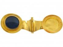 18ct Gold Micromosaic Bulla Pendant