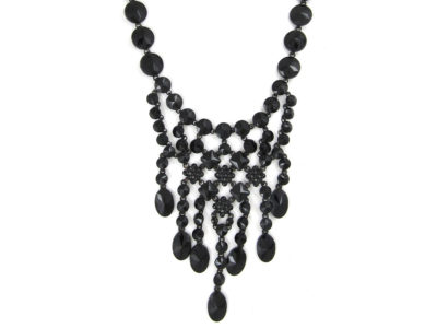 Victorian Vauxhall Glass Necklace