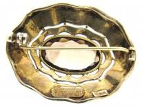 Theodor Fahrner Silver & Citrine brooch