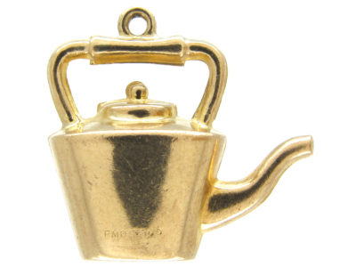 9ct Gold Kettle Charm