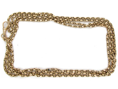 Victorian 9ct Gold Guard Chain