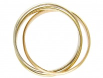 18ct Gold Triple Gold Band Ring