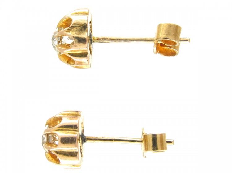 Edwardian Diamond Earrings