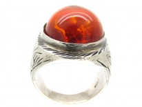 Russian Amber Ring