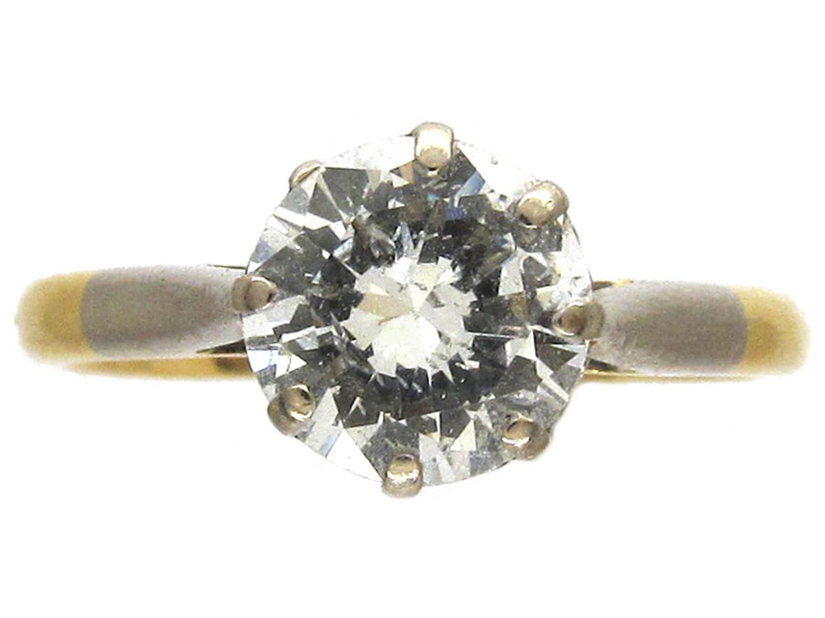 1ct Diamond Solitaire Ring