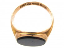 Victorian 15ct Gold Bloodstone Signet Ring