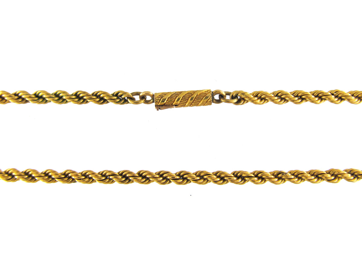 Victorian 18ct Gold Prince of Wales Twist Chain