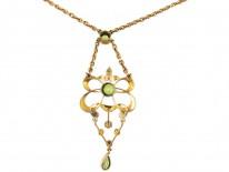 Suffragette Gold Pendant on Chain