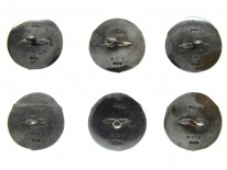 Silver & Enamel Buttons by Liberty & Co.