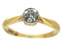 Edwardian Single Stone Diamond Ring