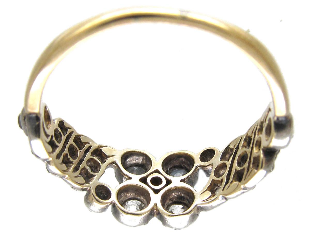 Georgian Old Mine Cut Diamond Ring