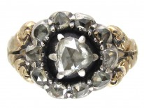 Georgian Rose Cut Diamond Ring