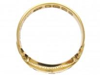Victorian Sapphire & Diamond Ring