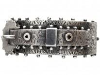Victorian Silver Buckle Bangle