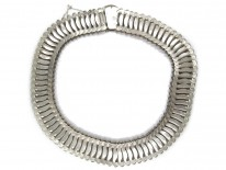 Silver Armadillo Style Necklace