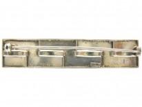 Theodor Farhner Art Deco Silver Gilt Brooch