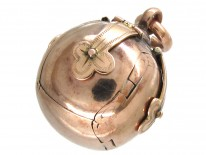 9ct Gold Masonic Ball Pendant