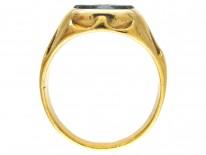 Victorian Indian Aristocrat Bloodstone Signet Ring