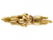 9ct Gold Racehorse & Jockey Pendant or Charm