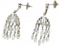 Diamond Chandelier Drop Earrings