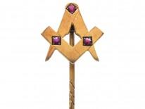 Masonic 9ct Gold Stick Pin