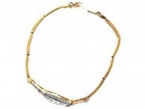 Diamond & Sapphire Art Deco Bracelet