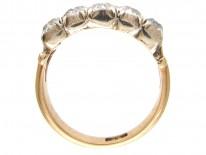 Victorian Double Row Diamond Ring