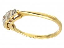 Five Stone Diamond Art Deco Ring