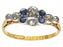Edwardian Diamond & Sapphire Ring