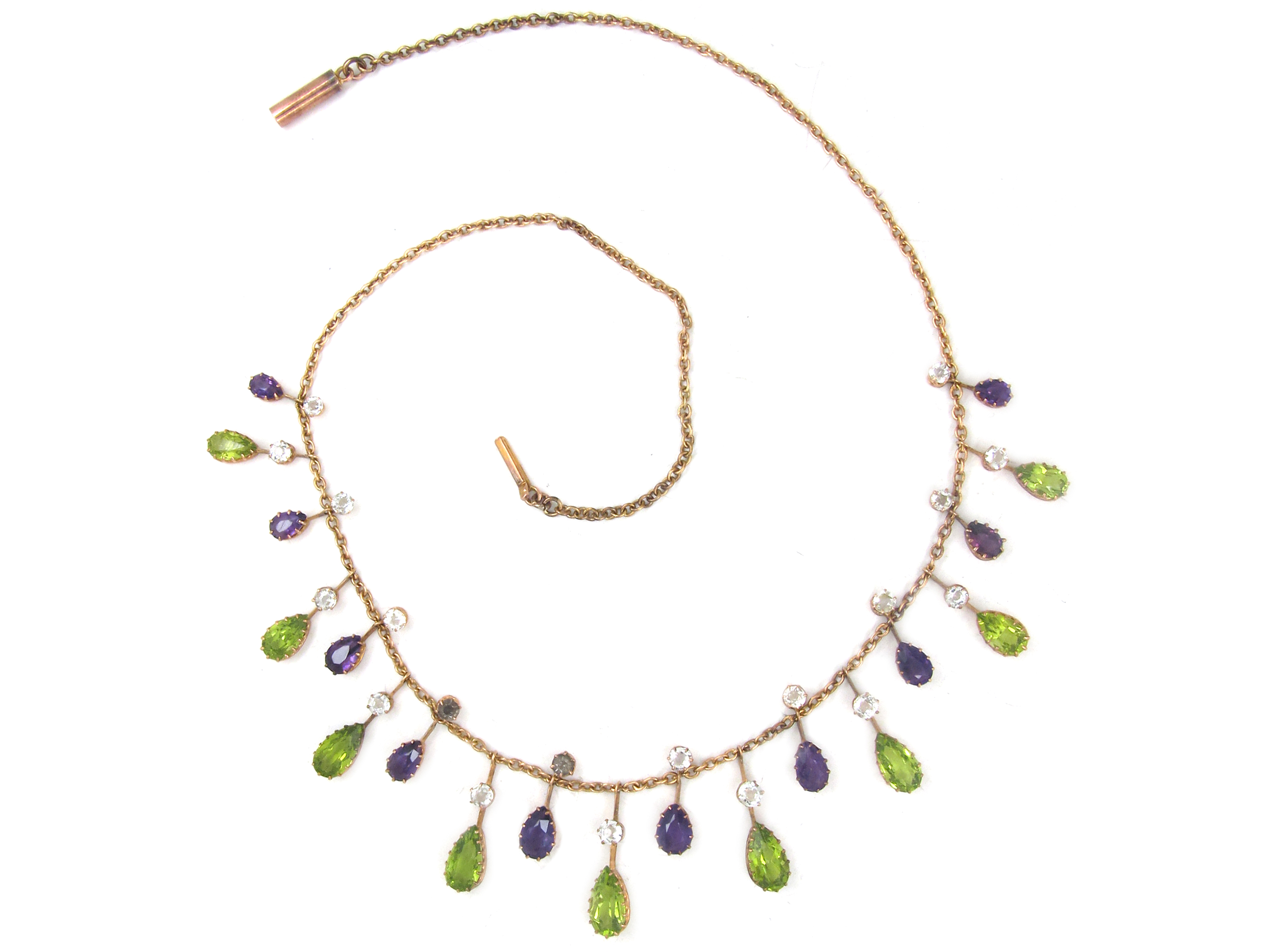 9ct Gold Suffragette Necklace