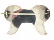 Victorian Scottish Banded Sardonyx Bow Brooch