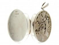 Victorian Silver Aesthetic Period Locket