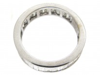 Eternity Ring set with Large Baguette Diamonds