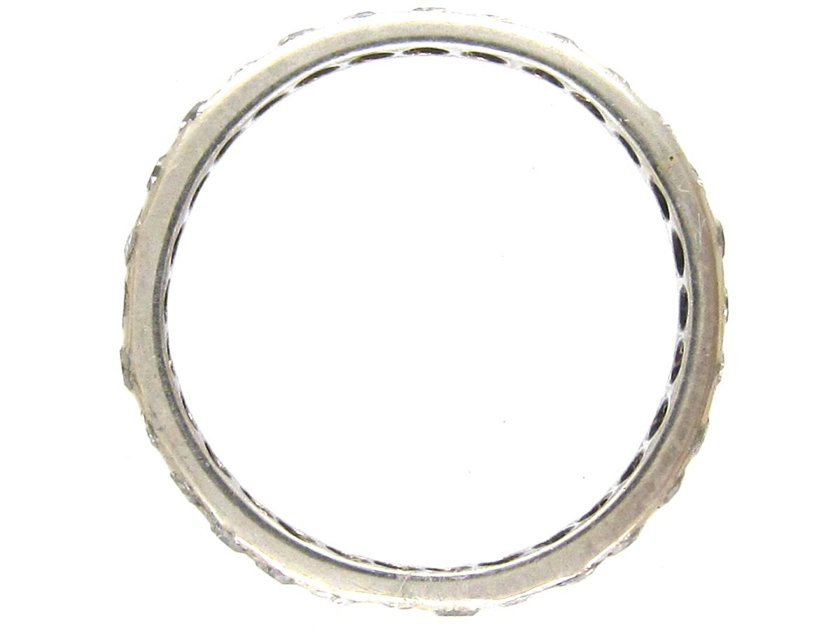 Diamond Set Eternity Ring