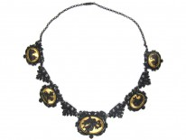Berlin Iron Neo-Classical Necklace