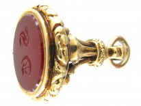 William IV 18ct Gold & Carnelian Seal