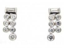 Diamond Drop Earrings by De Beers