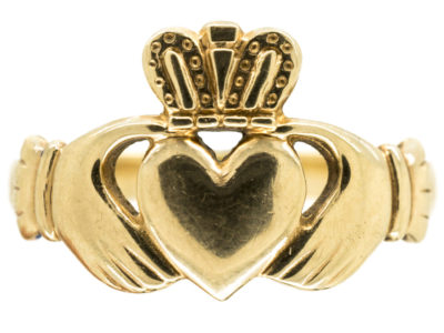 9ct Gold Claddagh Ring
