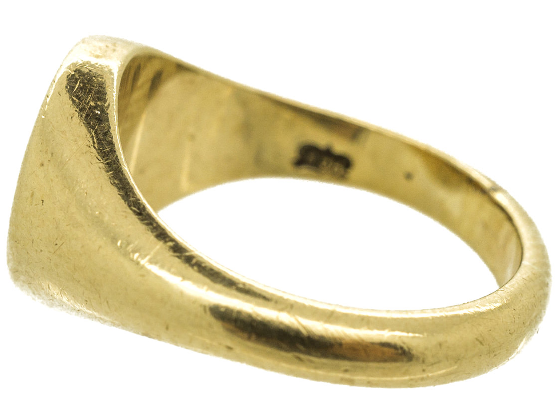9ct Gold Signet Ring with Griffin Intaglio