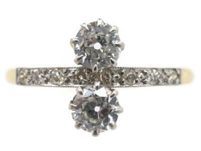 Edwardian Two Stone Diamond Ring
