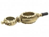 Georgian Gold Cased Watch Key